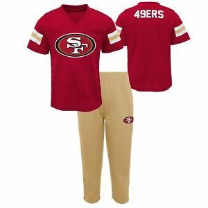 Outerstuff NFL Toddlers (2T-4T) San Francisco 49ers Training Camp Top and Pants