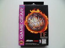 SEGA GAME GEAR NBA JAM TOURNAMENT EDITION TE BOXED COMPLETE TESTED