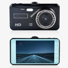 """Touch Screen 4"""" Dash Cam Dual Lens Car DVR Car Camera 1080P Night Vision"""