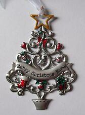 HD Merry Christmas Nana ORNAMENT Christmas Wishes Tree Ganz car charm