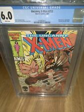 UNCANNY X-MEN #213 (Newsstand) CGC Graded 6.0 White Pages