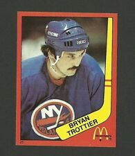 Bryan Trottier New York Islanders #25 1982-83 McDonald's Hockey Sticker NM/M