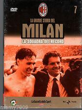 DVD=LA GRANDE STORIA DEL MILAN=1991-1992=VOLUME 7=LA SQUADRA DEI RECORD