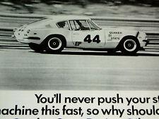 1969-1970 TRIUMPH GT-6+ GT6 PRINT AD/poster/picture-2.0 litre L6 engine/Group 44