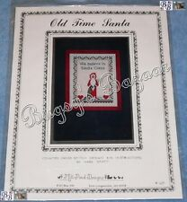 Mill Pond Designs OLD TIME SANTA Counted Cross Stitch Picture Pattern Chart