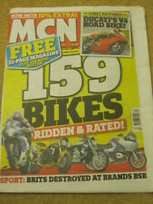 MCN - MOTORCYCLE NEWS - 159 BIKES - 30 March 2005