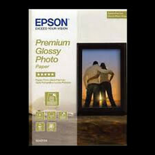 EPSON PREMIUM GLOSSY PHOTO PAPER 7x5 (18x13cm) 100 SHT NEXT DAY DEL. S041875 x 2