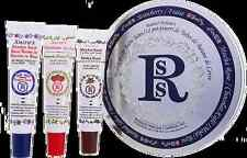 Smith's Rosebud Salve Medley of Lip Balm Tubes Special Gift Box 3 TUBES NEW