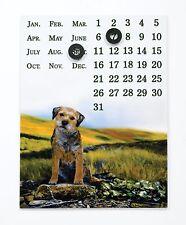 Border Fine Arts Studio - Border Terrier Viewpoint Magnetic Calendar 19807