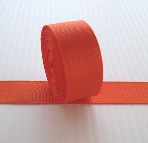 "7/8"" Grosgrain Ribbon Solid Color U Pick Lot 5 Yards"