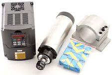 CNC  2.2KW Air-cooled Spindle Motor+220V  VFD Inverter + Mount + ER20 Collet set