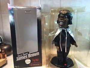 "Vtg 1966 JAMES  BROWN Animated 19"" Doll ""I Feel Good"" In Box"