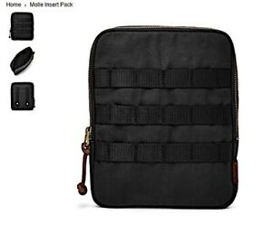 LUGGAGE: FOSSIL MOLLE INSERT PACK BLACK IPAD MINI PRO SLEEVE POUCH CASE