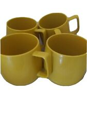 Vintage Dinex Insulated Coffee Mugs set of 4