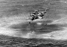 """Sikorsky HH-3E Jolly Green Giant rescues a pilot 13""""x 19"""" Vietnam War Poster 152"""