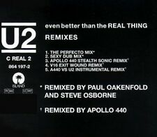 U2 even Better Than The Real Thing (Remixes, 5 versions, 1992) [Maxi-CD]