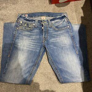 mens Blue Denim true religion jeans Size32