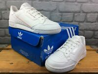 ADIDAS UK 5 EU 38 CONTINENTAL 80 WHITE PINK IRIDESCENT TRAINERS LADIES RRP £75 M