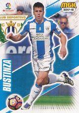 329 BUSTINZA ESPANA CD.LEGANES BASE CARD CARTA MGK 2018 PANINI