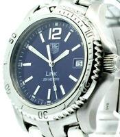 Men TAG HEUER LINK 200 Ref: WT1113-0 Stainless Steel Watch