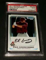 2011 Bowman Chrome #BCP99 Paul Goldschmidt Prospects PSA 9 Mint