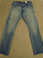 PRPS BARRACUDA Straight Distressed Light Wash Jeans Mens 36 x 33 Orig. $275+SALE
