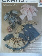 McCall's Crafts Pattern 5282 Bunny Wraps by Faye Wine County Rabbits Clothes NOS