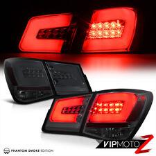 {SMOKE} LED Diamond Tail Light Brake Lamp L+R Assembly 2010-2015 Chevy CRUZE ECO