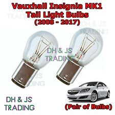 Vauxhall Insignia Tail Light Bulbs Pair of Rear Tail Light Bulb Lights (08-17)