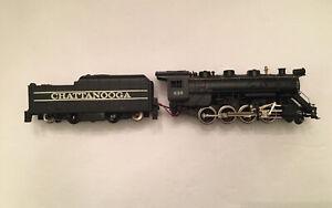 Vintage Ho Scale Tyco Smoking Chattanooga 2-8-0 Runs and Smokes #638 Used