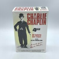 Charlie Chaplin - 4 Pack (DVD 2004, 4-Disc Set) 30 Features New/Sealed