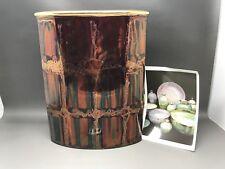 Stunning Handmade ATKINSON-JONES Lustreware Vase - 23.5 Cm