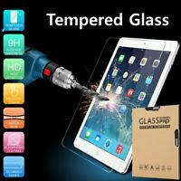 Tempered GLASS Screen Protector for Apple iPad 5th 6th Gen Pro 9.7 Air Air2 Lot