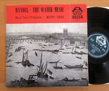 ACL 19 Handel The Water Music Boyd Neel Orchestra EXCELLENT Decca Mono