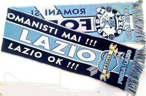 FORZA LAZIO Italy Soccer Team Souvenir Scarf
