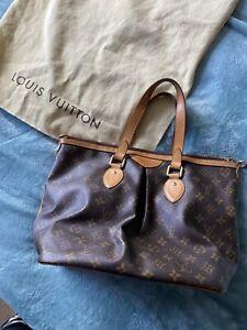 Authentic LOUIS VUITTON Palermo Mid Size Hand Bag