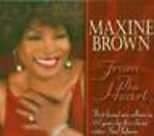 CD MAXINE BROWN - FROM THE HEART  / neuf & scellé