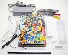 Nintendo Wii Super Smash Bros Console System Bundle Mario/Luigi/Pokemon/Sonic