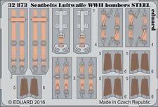 Eduard 1/32 ceintures de sécurité Luftwaffe 2ND GUERRE MONDIALE Bombardiers