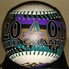 2001 WORLD CHAMPIONS ARIZ DIAMONDBACKS FOTOBALL SPECIAL EDITION BASEBALL RARE