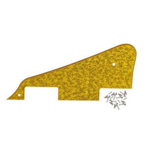 Sparkle Gold Electric Guitar Pickguard Scratch Plate &Screws for LP Style Guitar