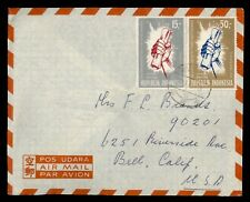 DR WHO 1965 INDONESIA DJAKARTA AIRMAIL TO USA  f53459
