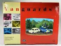 VANGUARDS  DIECAST FORD ANGLIA & HILLMAN IMP DIORAMA RD3002 1:43 NEW OLD STOCK