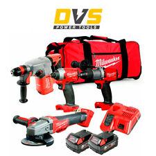 Milwaukee M18FPP4G2-502B 18v 4 Piece Power Tool Cordless Kit  2x 5.0Ah Batteries