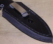 Boot Knife Dagger Full Tang W/ Boots Clip Sheath Case !