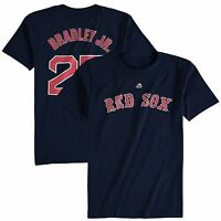 Jackie Bradley Jr. # 25 Boston Red Sox Navy Player T-Shirt by Majestic