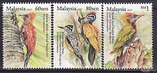 [SS] Malaysia 2013 Woodpecker STAMP SET