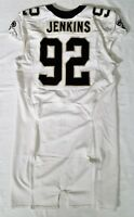 #92 John Jenkins of New Orleans Saints NFL Locker Room Game Issued Worn Jersey