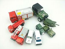 10 Piece Toy Car Lot Military Fire Police Boy Birthday Gift Holiday Party Prize
