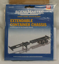 Walthers 949-4105 HO Extendable container chassis, parts for 2 complete chassis